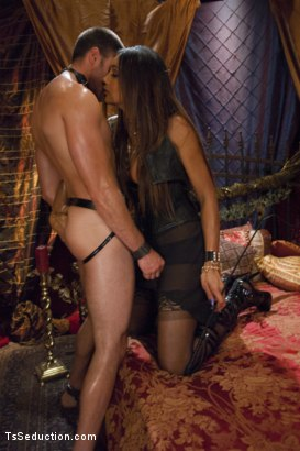 Photo number 3 from She's the Owner of all men - Yasmin Lee. shot for TS Seduction on Kink.com. Featuring Yasmin Lee and Abel Archer in hardcore BDSM & Fetish porn.