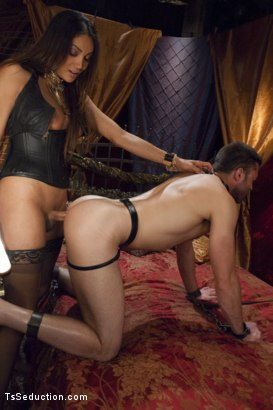 Photo number 6 from She's the Owner of all men - Yasmin Lee. shot for TS Seduction on Kink.com. Featuring Yasmin Lee and Abel Archer in hardcore BDSM & Fetish porn.