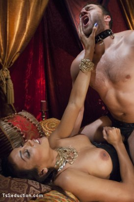 Photo number 8 from She's the Owner of all men - Yasmin Lee. shot for TS Seduction on Kink.com. Featuring Yasmin Lee and Abel Archer in hardcore BDSM & Fetish porn.