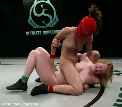 Photo number 11 from The Ninja (18-2)<br>The Grappler (3-2) shot for Ultimate Surrender on Kink.com. Featuring Crimson Ninja and Dee Williams in hardcore BDSM & Fetish porn.