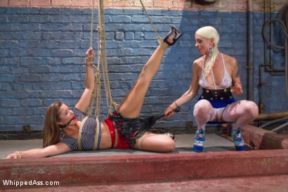 Photo number 1 from A Body Made For Punishment shot for Whipped Ass on Kink.com. Featuring Lorelei Lee and Dani Daniels in hardcore BDSM & Fetish porn.