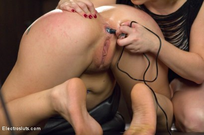 Photo number 19 from 19-Year-Old Loves ANAL Electricity! shot for Electro Sluts on Kink.com. Featuring Aiden Starr and Mandy Muse in hardcore BDSM & Fetish porn.