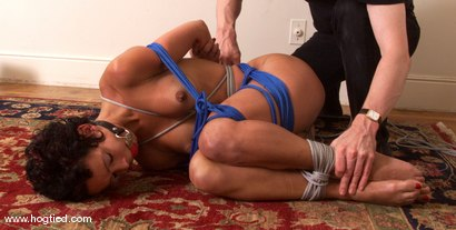 Photo number 8 from Lulu shot for Hogtied on Kink.com. Featuring Lulu in hardcore BDSM & Fetish porn.