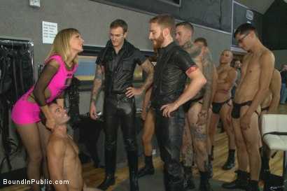 Photo number 1 from BIP crew infiltrates Bond-Con & makes straight stud take tons of cock! shot for Bound in Public on Kink.com. Featuring Christian Wilde, Cameron Kincade and Alexander Gustavo in hardcore BDSM & Fetish porn.