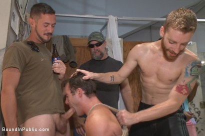 Photo number 9 from BIP crew infiltrates Bond-Con & makes straight stud take tons of cock! shot for Bound in Public on Kink.com. Featuring Christian Wilde, Cameron Kincade and Alexander Gustavo in hardcore BDSM & Fetish porn.