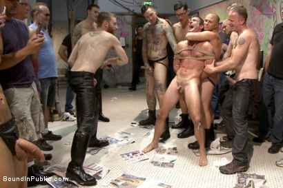 Photo number 8 from BIP crew infiltrates Bond-Con & makes straight stud take tons of cock! shot for Bound in Public on Kink.com. Featuring Christian Wilde, Cameron Kincade and Alexander Gustavo in hardcore BDSM & Fetish porn.