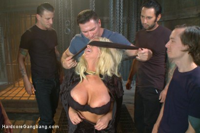 Photo number 2 from Desperate wife gets her gangbang fantasy fulfilled shot for Hardcore Gangbang on Kink.com. Featuring John Strong, Owen Gray, Tommy Pistol, Mr. Pete, Karlo Karrera and Alura Jenson in hardcore BDSM & Fetish porn.