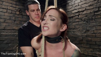 Photo number 3 from Sophia Locke's Lessons in Pain and Pleasure, Day Two shot for The Training Of O on Kink.com. Featuring Sophia Locke and Mickey Mod in hardcore BDSM & Fetish porn.