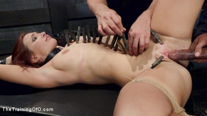 Photo number 11 from Sophia Locke's Lessons in Pain and Pleasure, Day Two shot for The Training Of O on Kink.com. Featuring Sophia Locke and Mickey Mod in hardcore BDSM & Fetish porn.