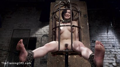Photo number 5 from Tifereth's First Porn Shoot, Day One shot for The Training Of O on Kink.com. Featuring Owen Gray and Tifereth in hardcore BDSM & Fetish porn.