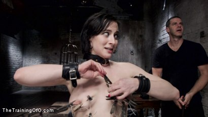 Photo number 9 from Tifereth's First Porn Shoot, Day One shot for The Training Of O on Kink.com. Featuring Owen Gray and Tifereth in hardcore BDSM & Fetish porn.