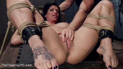 Photo number 13 from Big Tit MILF Faces Her Fears to Get Dick shot for The Training Of O on Kink.com. Featuring Shay Fox and Owen Gray in hardcore BDSM & Fetish porn.