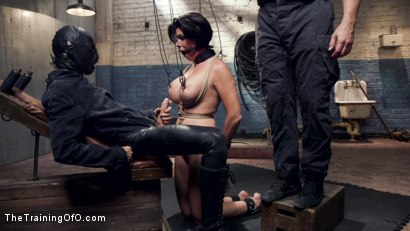 Photo number 4 from Big Tit MILF Faces Her Fears to Get Dick shot for The Training Of O on Kink.com. Featuring Shay Fox and Owen Gray in hardcore BDSM & Fetish porn.