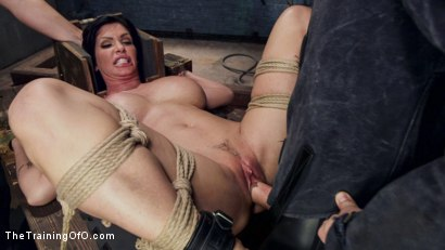 Photo number 14 from Big Tit MILF Faces Her Fears to Get Dick shot for The Training Of O on Kink.com. Featuring Shay Fox and Owen Gray in hardcore BDSM & Fetish porn.