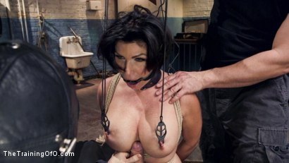 Photo number 6 from Big Tit MILF Faces Her Fears to Get Dick shot for The Training Of O on Kink.com. Featuring Shay Fox and Owen Gray in hardcore BDSM & Fetish porn.