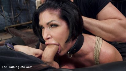 Photo number 8 from Big Tit MILF Faces Her Fears to Get Dick shot for The Training Of O on Kink.com. Featuring Shay Fox and Owen Gray in hardcore BDSM & Fetish porn.