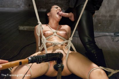 Photo number 9 from Innocence Stripped - Slave Training Paisley shot for The Training Of O on Kink.com. Featuring Paisley Parker and Robby Echo in hardcore BDSM & Fetish porn.