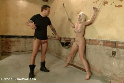 Photo number 6 from Darcie Belle--Damsel in Distress shot for Sex And Submission on Kink.com. Featuring Mr. Pete and Darcie Belle in hardcore BDSM & Fetish porn.