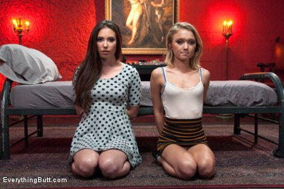 Photo number 1 from Anal Sluts: Dakota Skye, Casey Calvert, Aiden Starr shot for Everything Butt on Kink.com. Featuring Dakota Skye, Aiden Starr and Casey Calvert in hardcore BDSM & Fetish porn.