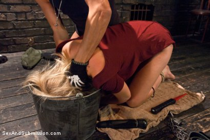 Photo number 3 from The Submission of Mona Wales shot for sexandsubmission on Kink.com. Featuring Xander Corvus and Mona Wales in hardcore BDSM & Fetish porn.