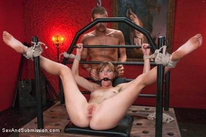 Photo number 10 from The Submission of Mona Wales shot for Sex And Submission on Kink.com. Featuring Xander Corvus and Mona Wales in hardcore BDSM & Fetish porn.