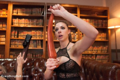 Photo number 8 from Anal Sluts! The Return of Chanel Preston with Angel Allwood shot for Everything Butt on Kink.com. Featuring Chanel Preston and Angel Allwood in hardcore BDSM & Fetish porn.