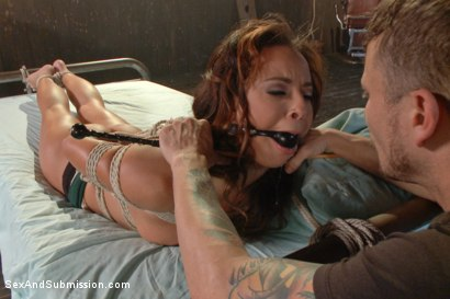 Photo number 4 from The Claiming of Teanna Trump shot for Sex And Submission on Kink.com. Featuring Mr. Pete and Teanna Trump in hardcore BDSM & Fetish porn.