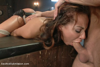 Photo number 9 from The Claiming of Teanna Trump shot for Sex And Submission on Kink.com. Featuring Mr. Pete and Teanna Trump in hardcore BDSM & Fetish porn.