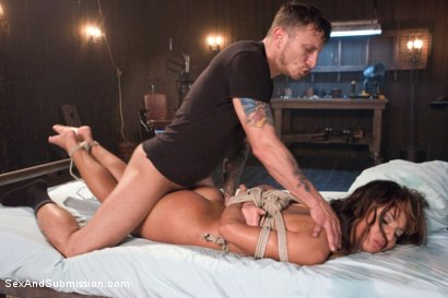 Photo number 6 from The Claiming of Teanna Trump shot for Sex And Submission on Kink.com. Featuring Mr. Pete and Teanna Trump in hardcore BDSM & Fetish porn.