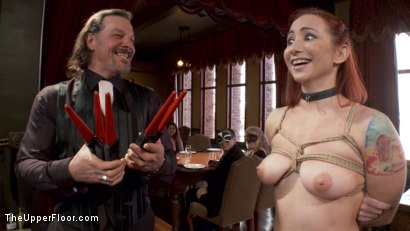 Photo number 1 from The Paddle Club shot for The Upper Floor on Kink.com. Featuring Karlo Karrera, Sophia Locke and Casey Calvert in hardcore BDSM & Fetish porn.