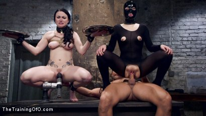 Photo number 9 from A Higher Protocol: Training Veruca James, Day Two shot for The Training Of O on Kink.com. Featuring Veruca James, Ramon Nomar and Juliette March in hardcore BDSM & Fetish porn.