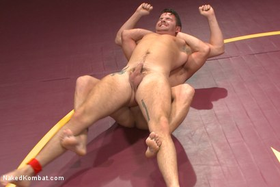 "Photo number 4 from Top Cock: Fight for the title of ""Team Captain"" shot for Naked Kombat on Kink.com. Featuring Rylan Knox and Brendan Patrick in hardcore BDSM & Fetish porn."