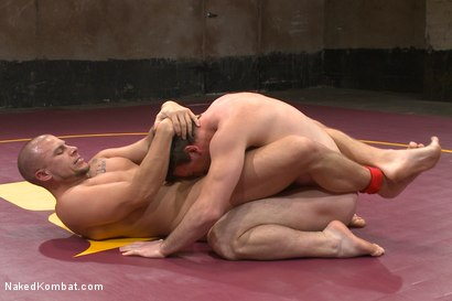 Photo number 4 from Top Cock: Hot Studs Eli Hunter & Scott Harbor Take it to the Mat shot for Naked Kombat on Kink.com. Featuring Scott Harbor and Eli Hunter in hardcore BDSM & Fetish porn.