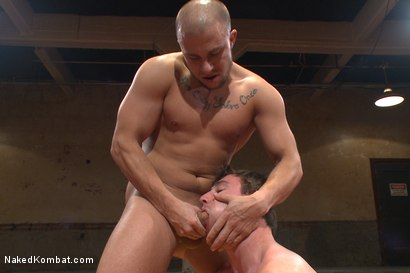 Photo number 12 from Top Cock: Hot Studs Eli Hunter & Scott Harbor Take it to the Mat shot for Naked Kombat on Kink.com. Featuring Scott Harbor and Eli Hunter in hardcore BDSM & Fetish porn.