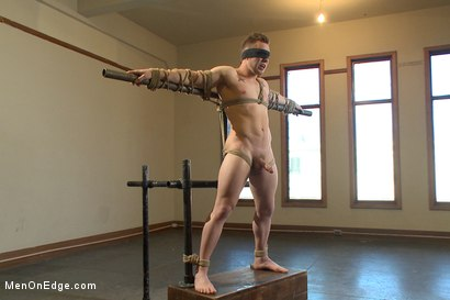 Photo number 4 from Brand new straight stud gets his hard cock edged shot for Men On Edge on Kink.com. Featuring Owen Michaels in hardcore BDSM & Fetish porn.