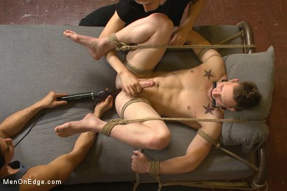 Photo number 12 from Brand new straight stud gets his hard cock edged shot for Men On Edge on Kink.com. Featuring Owen Michaels in hardcore BDSM & Fetish porn.