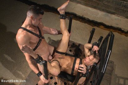 Photo number 12 from House dom Trenton Ducati brutally fucks the new slave boy  shot for Bound Gods on Kink.com. Featuring Trenton Ducati and Joseph Rough in hardcore BDSM & Fetish porn.