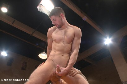 """Photo number 6 from Mikoah """"The Killer"""" Kan vs Conner """"The Crippler"""" Halsted  shot for Naked Kombat on Kink.com. Featuring Connor Halsted and Mikoah Kan in hardcore BDSM & Fetish porn."""