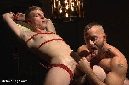 Photo number 3 from Edging Two Studs! shot for Men On Edge on Kink.com. Featuring Anthony Verusso and Branden Forrest in hardcore BDSM & Fetish porn.
