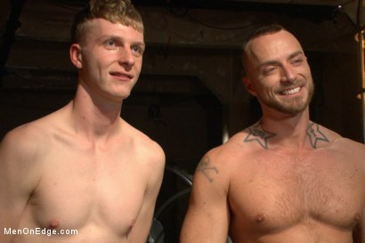 Photo number 15 from Edging Two Studs! shot for Men On Edge on Kink.com. Featuring Anthony Verusso and Branden Forrest in hardcore BDSM & Fetish porn.
