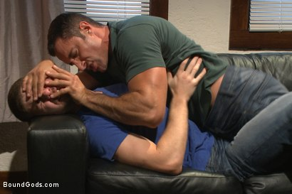Photo number 1 from Muscle hookup gone wrong shot for Bound Gods on Kink.com. Featuring Connor Halsted and Nick Capra in hardcore BDSM & Fetish porn.