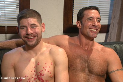 Photo number 15 from Muscle hookup gone wrong shot for Bound Gods on Kink.com. Featuring Connor Halsted and Nick Capra in hardcore BDSM & Fetish porn.
