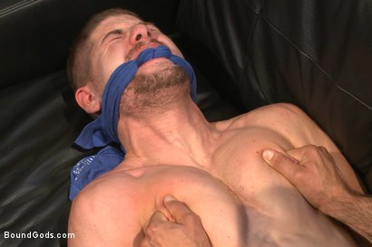Photo number 4 from Muscle hookup gone wrong shot for Bound Gods on Kink.com. Featuring Connor Halsted and Nick Capra in hardcore BDSM & Fetish porn.