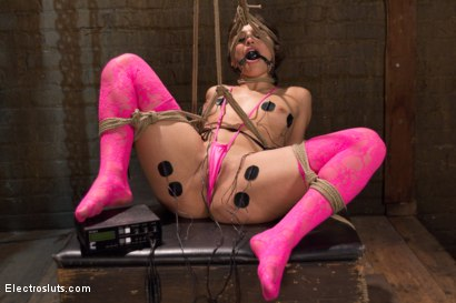 Photo number 18 from Hot Slut Gets Electrofucked for Her 19th Birthday! shot for Electro Sluts on Kink.com. Featuring Abella Danger and Chanel Preston in hardcore BDSM & Fetish porn.