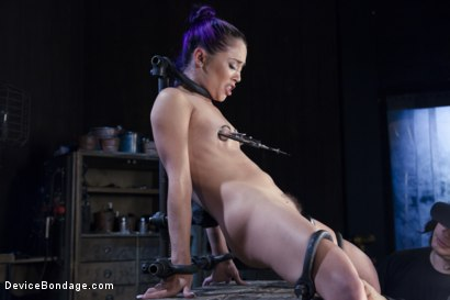 Photo number 11 from Hard Steel - Kristina Rose shot for Device Bondage on Kink.com. Featuring Kristina Rose and Orlando in hardcore BDSM & Fetish porn.