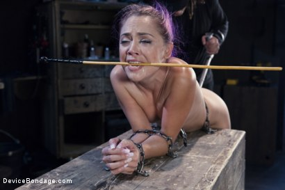 Photo number 1 from Hard Steel - Kristina Rose shot for Device Bondage on Kink.com. Featuring Kristina Rose and Orlando in hardcore BDSM & Fetish porn.