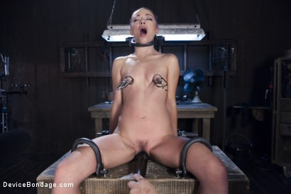 Photo number 3 from Hard Steel - Kristina Rose shot for Device Bondage on Kink.com. Featuring Kristina Rose and Orlando in hardcore BDSM & Fetish porn.