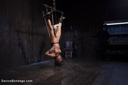Photo number 10 from The Ultimate Surrender!!! shot for Device Bondage on Kink.com. Featuring Orlando and Ariel X in hardcore BDSM & Fetish porn.