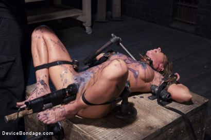 Photo number 12 from The Ultimate Surrender!!! shot for Device Bondage on Kink.com. Featuring Orlando and Ariel X in hardcore BDSM & Fetish porn.