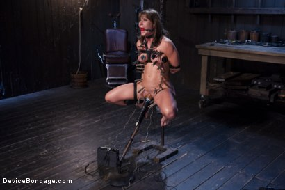 Photo number 15 from The Ultimate Surrender!!! shot for Device Bondage on Kink.com. Featuring Orlando and Ariel X in hardcore BDSM & Fetish porn.